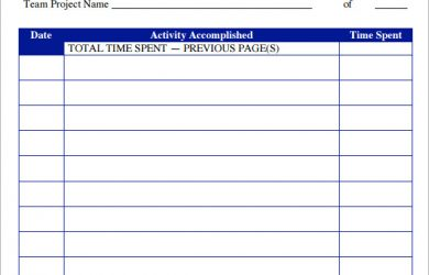 timesheet templates word project timesheet format