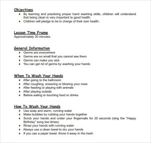 toddler lesson plan templates early childhood lesson plan template