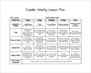 toddler lesson plans free fall lesson plan for toddlers free pdf download