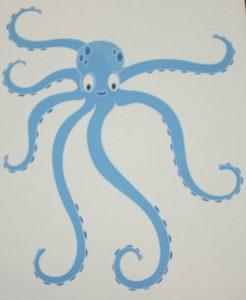 tote bag template octopus tote bag