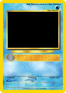 trading card templates pokemon tcg blanks neo jumbo baby by icycatelf dzxfrj