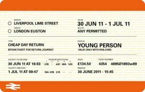 train ticket template ticket
