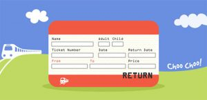 train ticket template train ticket template