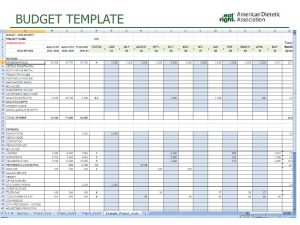 training agenda template budget training for chapters