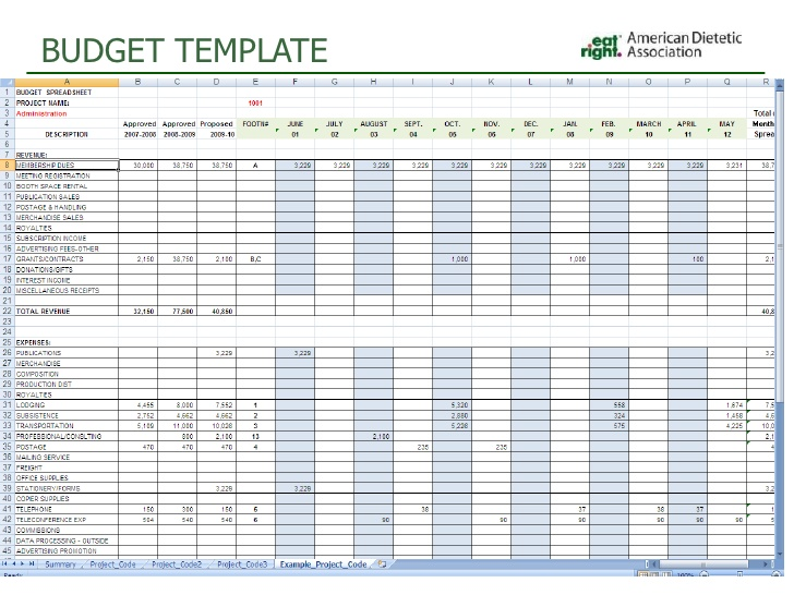 training agenda template