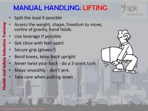 training manual examples health and safety induction training