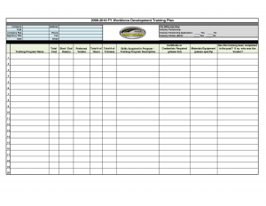 training plan template training plan template wdiulr