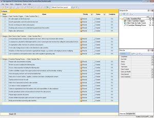 transition plan template sales transition plan checklist