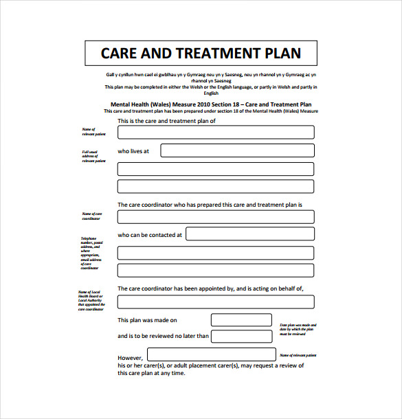 Treatment plan template template business treatment plan template yadclub Choice Image
