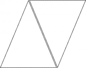 triangle banner template a flag tutorial triangle template banner template and triangle with regard to printable banner template