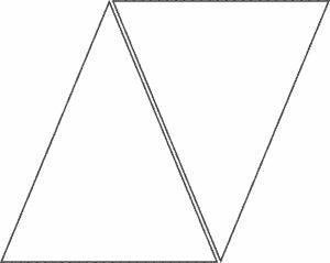 triangle banner template atqemoec