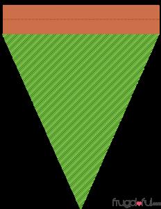 triangle banner template halloweentriangle