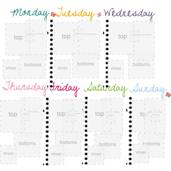 trip planner template