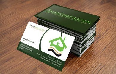 two sided business cards d bd