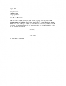 two weeks notice letter sample weeks notice resignation letter sample formal resignation