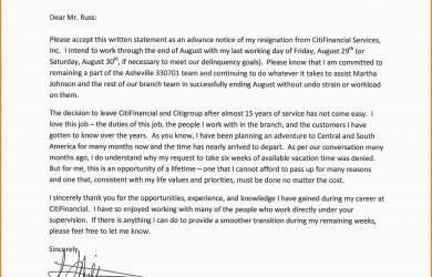 two weeks notice sample formal resignation letter professional resignation letter sample examples letter of resignation weeks notice