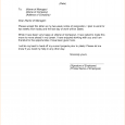 two weeks notice samples weeks notice letter simple