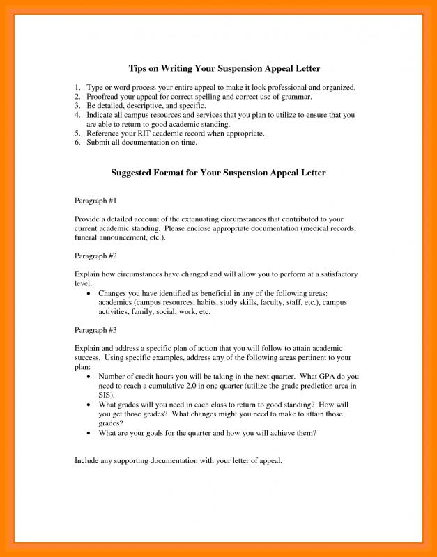 Unemployment Appeal Letter | Template Business