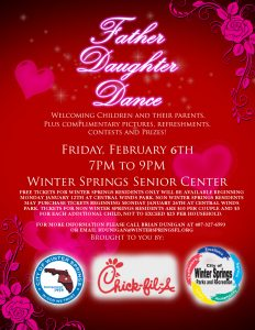 valentine day flyer fatherdaughterdance