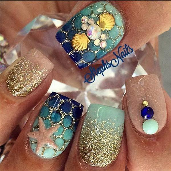 valentine nails design