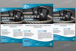 valentines day flyers training gymfitness flyer template photoshop