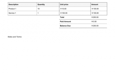 vehicle bill of sale pdf chinese invoice template