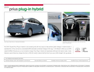 vehicle sales agreement toyota prius plug in hybrid brochure vehicle details specifications los angeles n hollywood toyota