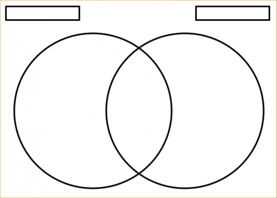 Ven    Diagram    Maker   Template Business