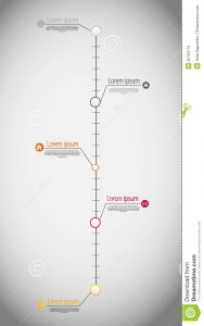 vertical timeline template timeline infographic business template vector illustration file eps format