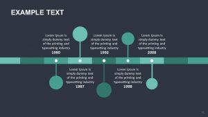 vertical timeline template timeline slide