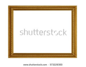 vintage postcard template stock photo gold vintage frame elegant vintage gold gilded picture frame with beading isolated on white