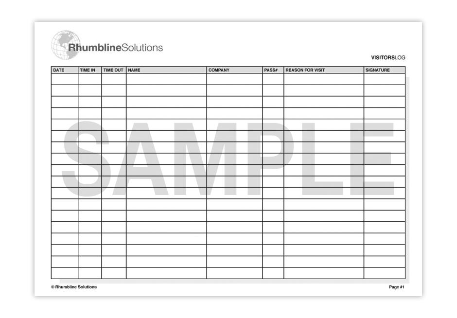 visitors sign in sheet pike productoseb co