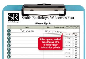 visitor sign in sheets med label off sil with bl