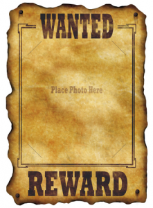 wanted poster template picture 2
