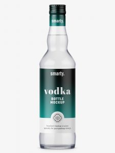 water bottle mockup vodka bottle mockup