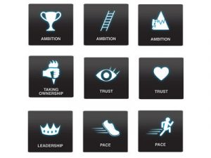 web design icons tms values logos x