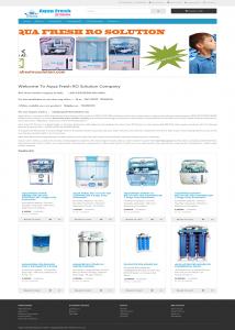 website designing quotation aquafreshrosolution com