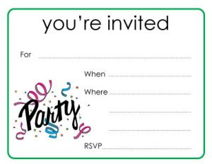 website sitemap template amazing ideas you re invited cards marvelous designing rectangular party event celebrating format