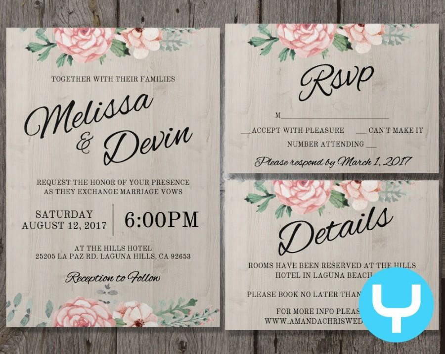 wedding announcement templates
