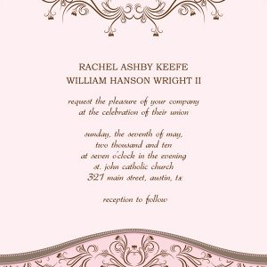 wedding announcements template wedding invitation templates wi