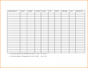 wedding gift list fundraiser template