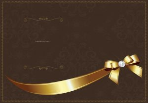 wedding invitation templates free download golden luxury invitation vector template