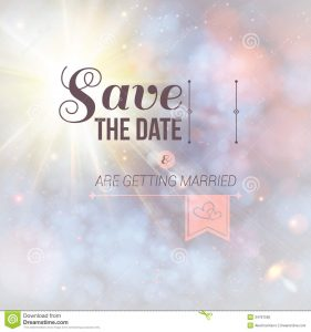 wedding invite background save date personal holiday wedding invitation lovely soft background vector image