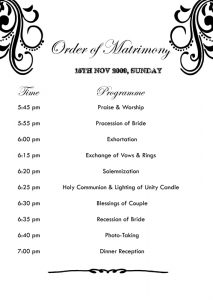 wedding list templates weddingofcolinandcherry martimony