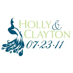 wedding logo design holly clayton final