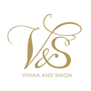 wedding logo design vands wedding logo gold