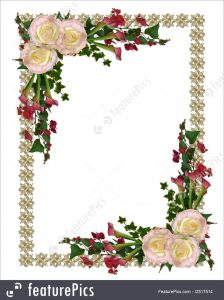 wedding plan templates wedding invitation floral stock illustration