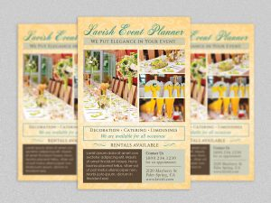 wedding planners templates event planner flyer template by godserv dfm