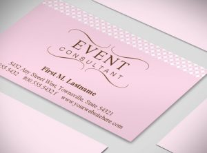 wedding planners templates wedding planner business card template