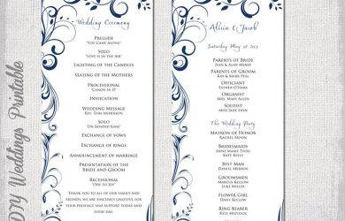 wedding program fan templates daafbaeacdb ceremony programs wedding programs